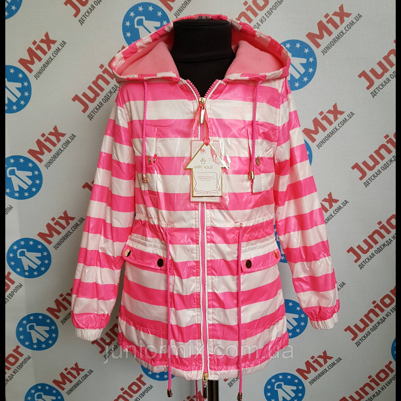 Куртка весняна на дівчинку HAPPY HOUSE