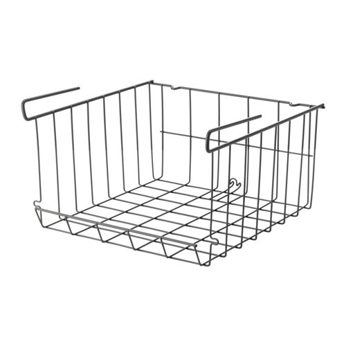 "IKEA ""ОБСЕРВАТОР"" Подвесная корзина, серо-коричневый"