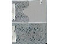 Набор ковриков для ванной Arya Bahar серый