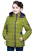 Оригинальная деткая курточка с капюшоном