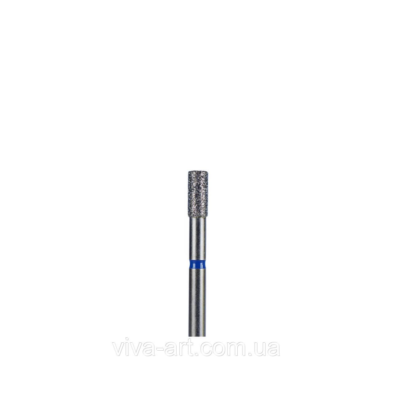 Алмазна насадка циліндр, 2.7 мм, середній абразив, Meisinger (Німеччина)