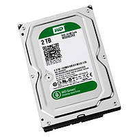 Жесткий диск 3.5' 2Tb Western Digital Green, SATA3, 64Mb,IntelliPower(5400 - 7200 rpm (WD20EZRX) (-)