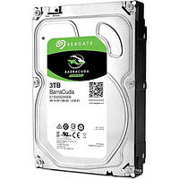 Жесткий диск 3Tb Seagate BarraCuda, SATA3, 64Mb, 7200 rpm (ST3000DM008)