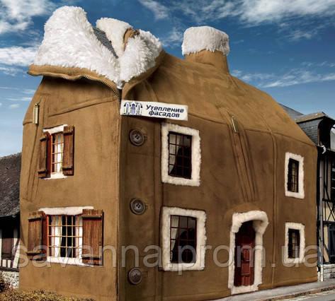 Утепление фасадов в Полтаве