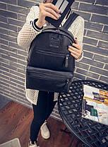 Большой трендовый городской рюкзак, фото 3
