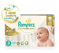 Pampers Premium Care Dry Max Midi 3 (4-9 кг) MEGA PACK 120 шт.