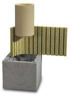 Керамический дымоход Schiedel  UNI двухходовыйбезвентиляции d 14-14, 14-16, 14-18, 14-20 см