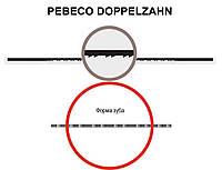 Пилка для лобзиковых станков  PEBECO doppelzahn №11