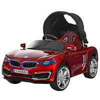 Детский электромобиль BMW M 3262 EBLRS-3 автопокраска, кожа, козырёк***
