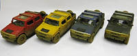 "Машина металл ""KINSMART"" KT5097WY (96шт/4)""Hummer H2 SUT (Muddy)"" в кор. 16*8,5*7,5см"
