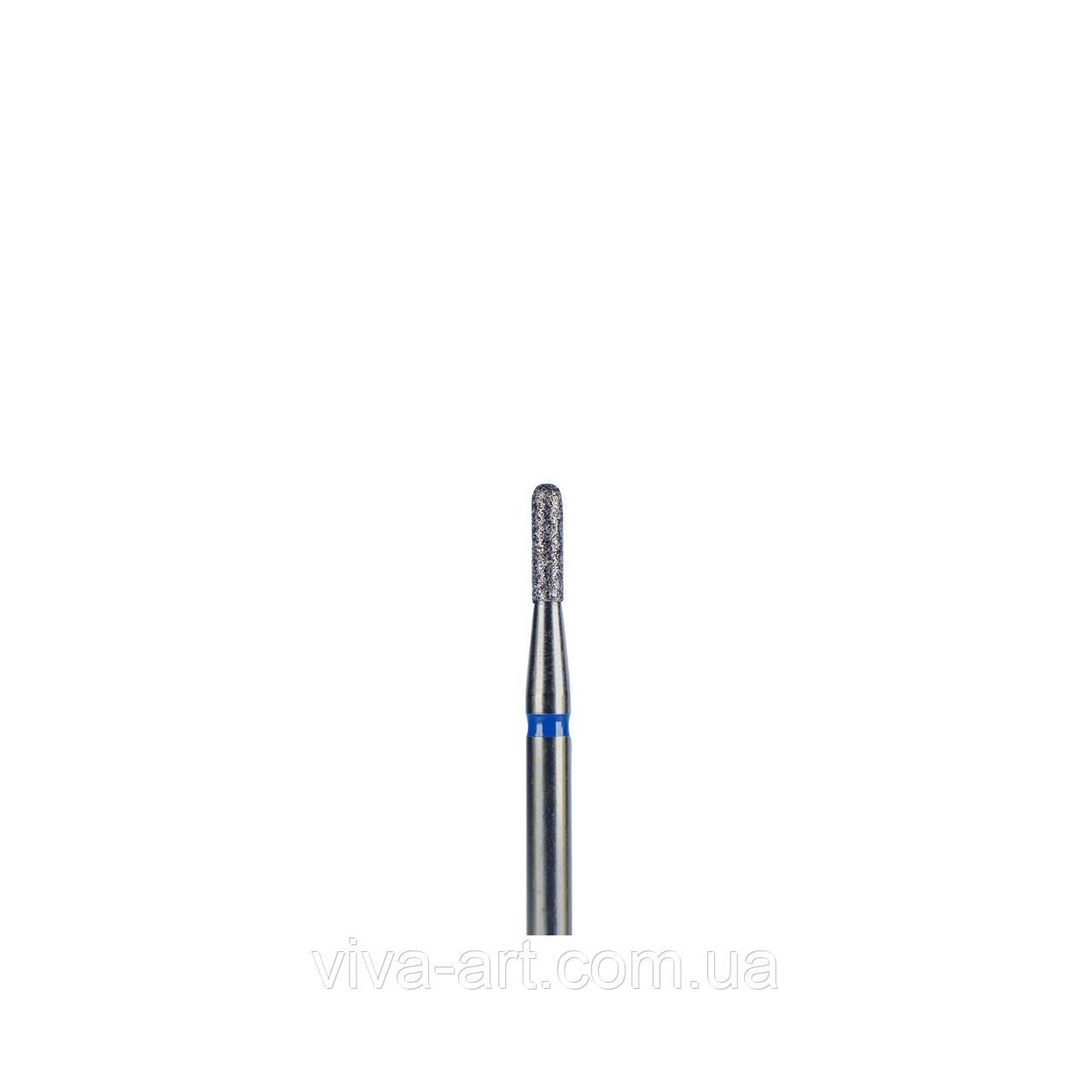 Алмазная насадка цилиндр закругленный, 1.6 мм, средний абразив, Meisinger (Германия)