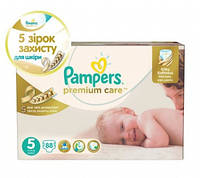 Подгузники Pampers Premium Care Dry Max Junior 5 (11-18 кг) MEGA PACK 88 шт.