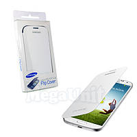Чехол-панель Flip Cover для Samsung i9500 Galaxy S4 Белый