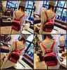 Милый бархатный рюкзак для модных девушек, фото 4