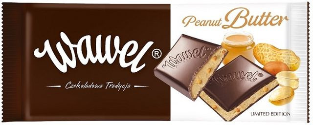 Шоколад  Wawel peanut butter Вавель пенаут бутер 100г (Польша).