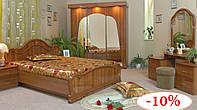 Ліжко, 2 тумби, шафа-купе