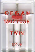 Двойная игла ORGAN 130/705H TWIN (100/6) x1