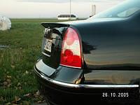 Спойлер на крышку багажника (сабля) Skoda Super B 2001-2008