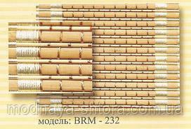 Римские бамбуковые шторы BRM-232 40х140 см
