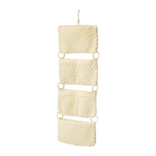"""IKEA """"НОРДРЭНА"""" Подвесной модуль д/хранения, белый с оттенком"""