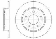 Задние тормозные диски Mazda 3