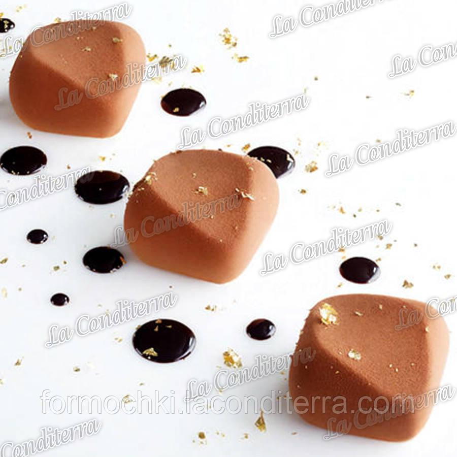 Силиконовая форма для десертов PAVONI PX4306 Deco