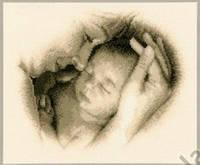 """Набор для вышивки крестом   Vervaco """"Мать и ребенок"""""""