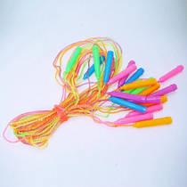 Скакалка крученая цветная  (10 штук)