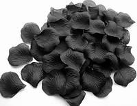 Лепестки черные