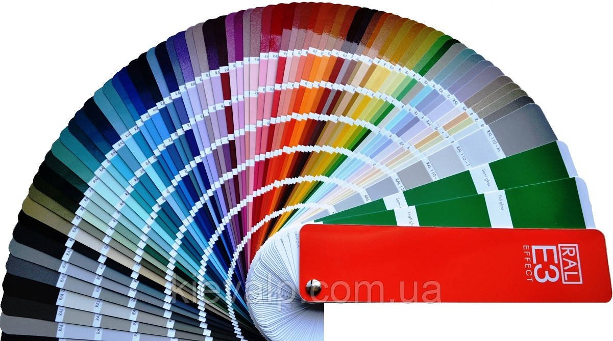 RAL E3 Effect, Каталог цвета, РАЛ Е3, цветовой веер, раскладка, палитра