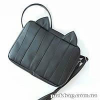 Женская сумка с ушками кошки полосатик Мур