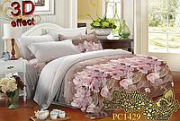 Семейный комплект постельного белья Sveline Tekstil PC1429 (поликоттон)