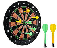 Мишень для игры в дартс магнитная Baili 14in, d-35см,  дротиков 6шт. (BL-15017)
