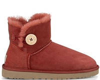 UGG Bailey Button Mini Red