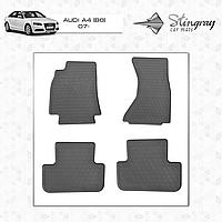 Ковры резиновые в салон Audi A4 (B8) c 2007 (4шт) Stingray 1030094