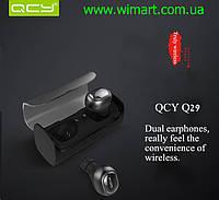 Наушники беспроводные мини гарнитура Bluetooth QCY-Q29 черная.