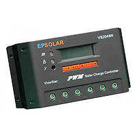 PV Контролер заряду для сонячних батарей VS2048N 20А 12/24/48V auto