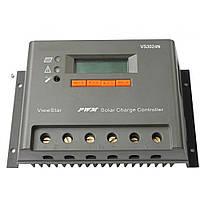 PV Контролер заряду для сонячних батарей VS3024N 30А 12/24V auto, фото 1