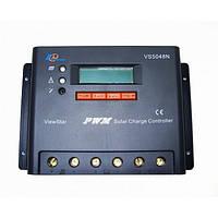 PV Контролер заряду для сонячних батарей VS5048N 50А 12/24/48V auto, фото 1