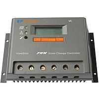 PV Контролер заряду для сонячних батарей VS4048N 40А 12/24/48V auto, фото 1