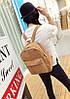 Молодежные вельветовые рюкзаки унисекс, фото 4