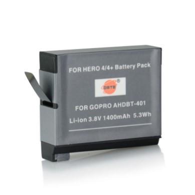 Аккумулятор (DSTE)  AHDBT 401 для GoPro Hero4