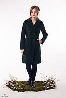Пальто ТУР-7 Тёмно-зелёный