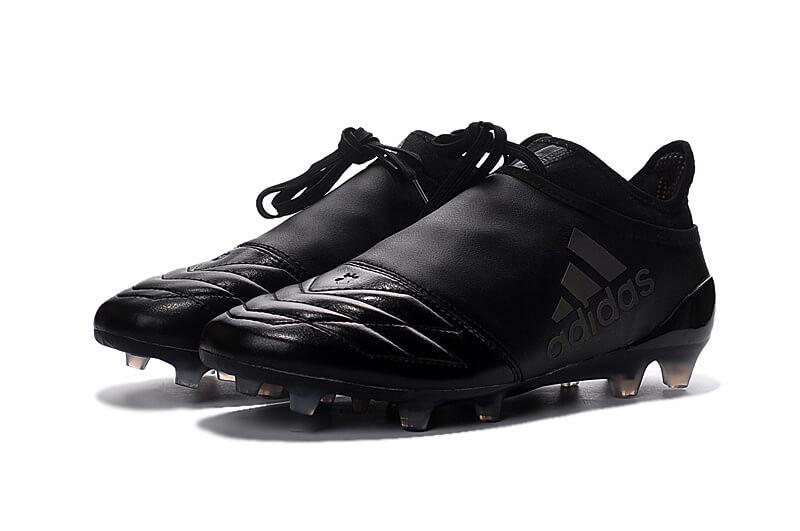 Футбольные бутсы Adidas X 16+ Pure Chaos FG Black - 1190