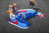Детские кроссовки Nike Cortez Blue/Red - 970