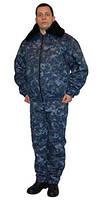 Костюм утепленный для охранника, камуфляжная униформа охраны