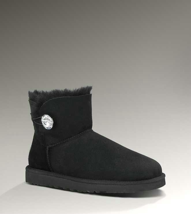 UGG Classic Mini Bling Black