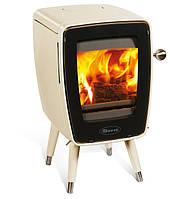 Чугунная печь Dovre Vintage 30/E8 бежевая эмаль - 5 кВт