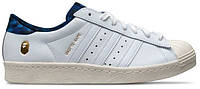 Кроссовки Adidas Consortium Superstar 80V White - 970