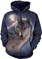 3D-толстовка THE MOUNTAIN-ADVENTURE WOLF (унисекс)